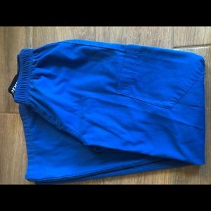 Dickies xs royal blue scrub pant